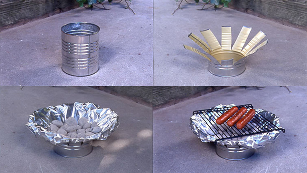 DIY Handmade Tin Can Crafts and Projects recycle upcycle Reuse of Tin Cans1
