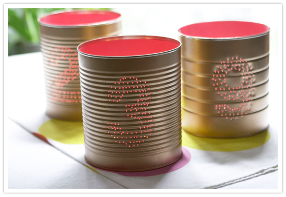 DIY Handmade Tin Can Crafts and Projects recycle upcycle Reuse of Tin Cans