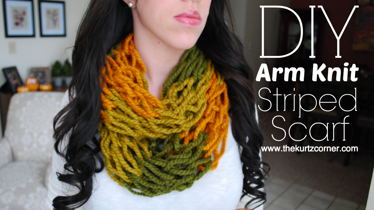 How to Knit an Infinity Scarf in Just 30 Minutes7