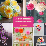 How to Make Tissue Paper Flowers: 14 Excellent Ways : Part 1