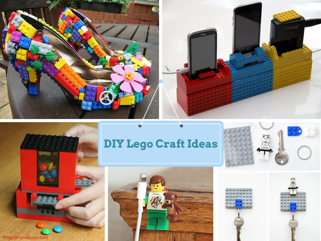 23 diy easy lego craft ideas for kids its fun for Simple handicraft project