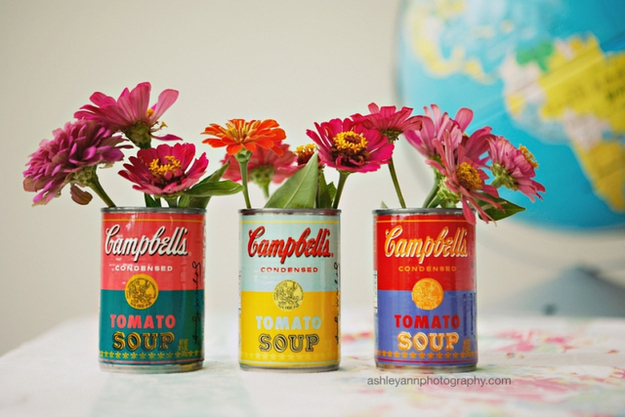 how to recycle reuse upcycle tin cans