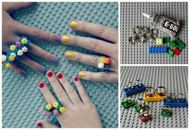 lego craft Ways To Upcycle reuse recycle Lego