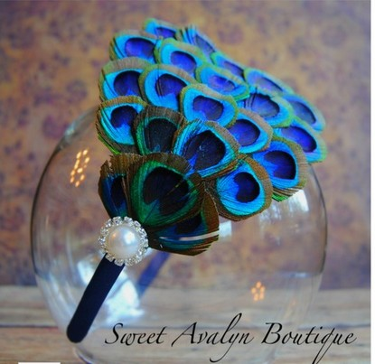 peacock-feather-diy-projects-crafts ideas tutorials