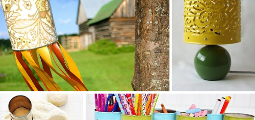 DIY Recycled Crafts Ideas to Make Use of Empty Tin Cans