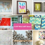 11 DIY Wall Decorating Ideas To Do Makeover of Boring Walls: Part 3