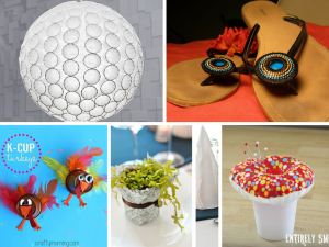 10 Great and Fun DIY Coffee Cup Craft Ideas: Part 2