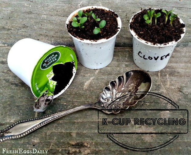 DIY keurig k cups crafts to make reuse recycle upcycle art and craft4