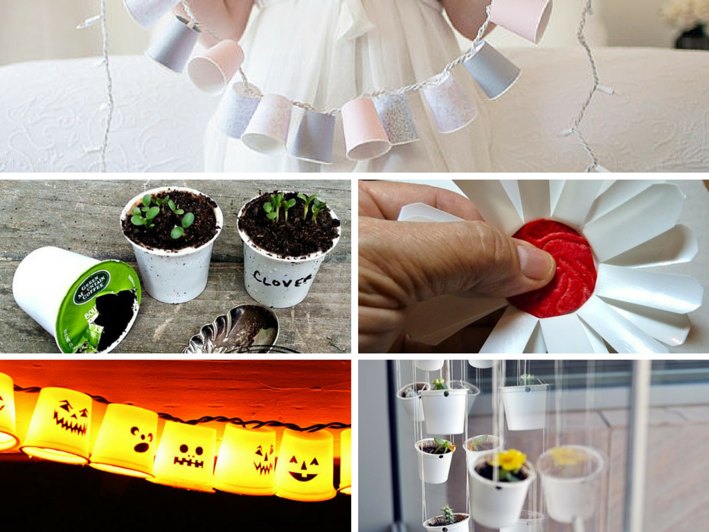 11 DIY Eco Friendly Coffee Cup Craft Ideas Part 1