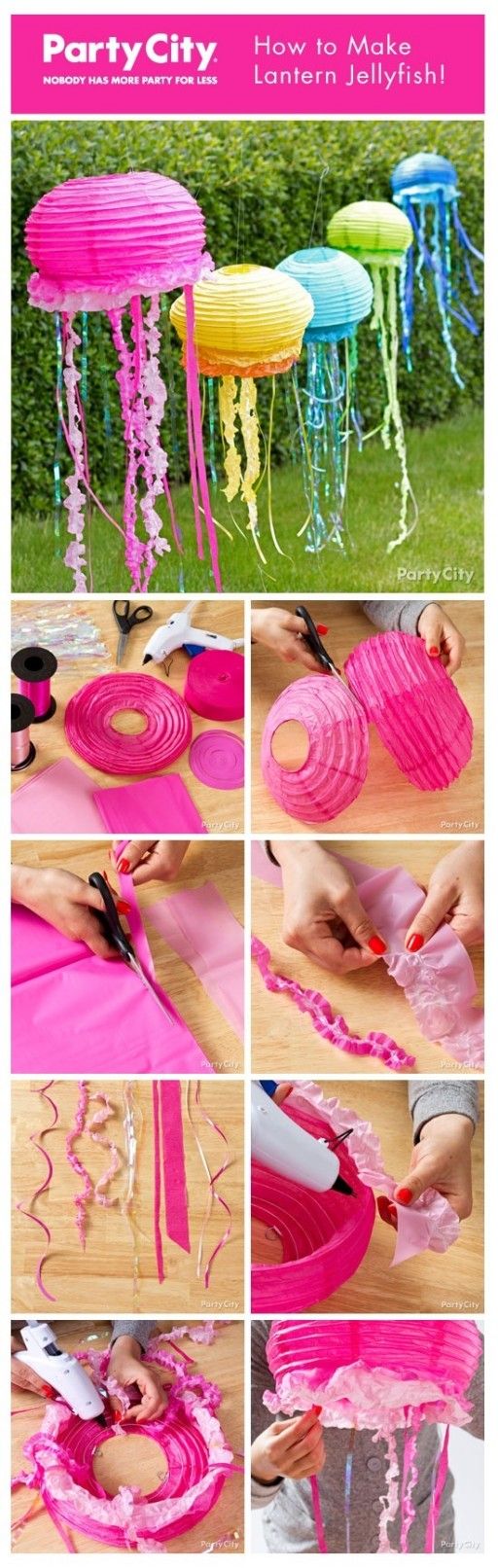 7 the most stunning diy paper lanterns ideas for How to make paper lanterns easy