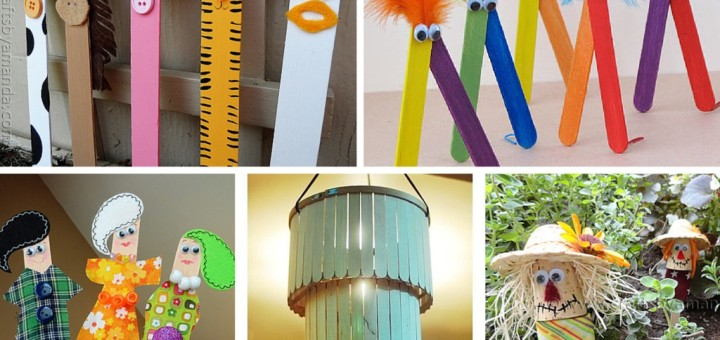 Super Easy And Inexpensive DIY Popsicle Stick Crafts Ideas