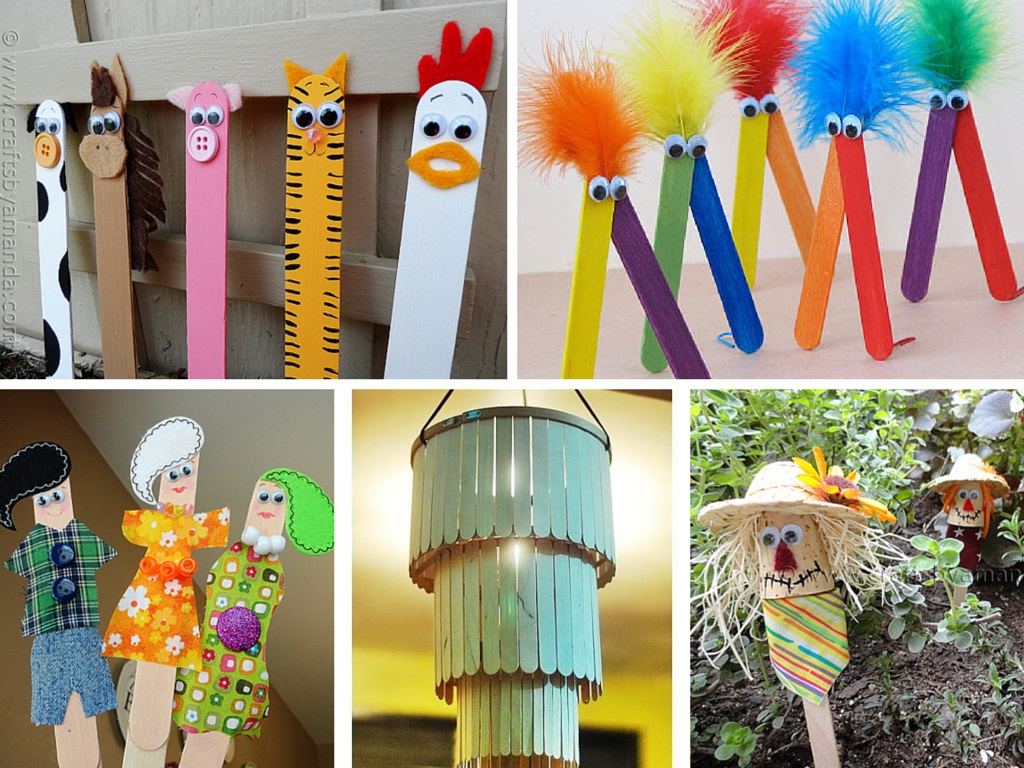 9 Super Easy and Inexpensive DIY Popsicle Stick Crafts Ideas