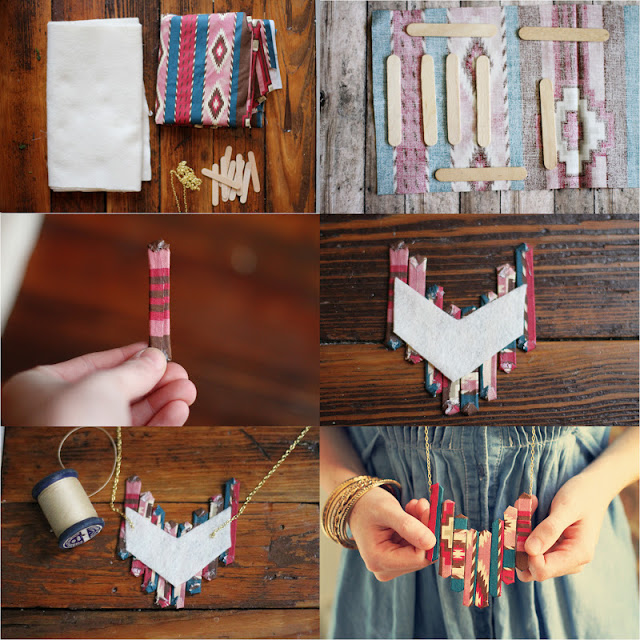 diy art and craft with ice cream sticks