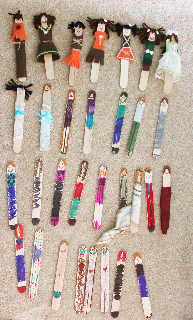 Popsicle Stick Diy Art And Craft With Ice Cream Sticks3