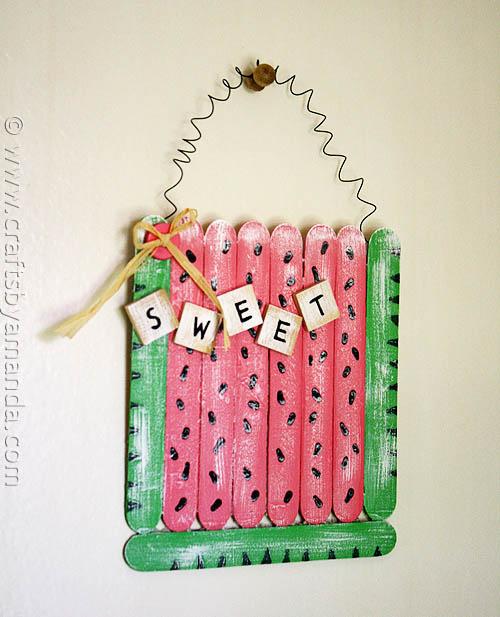 diy art and craft with ice cream sticks8