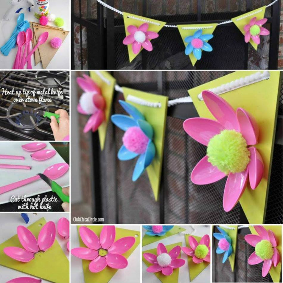 diy flower decorations floral decor garland