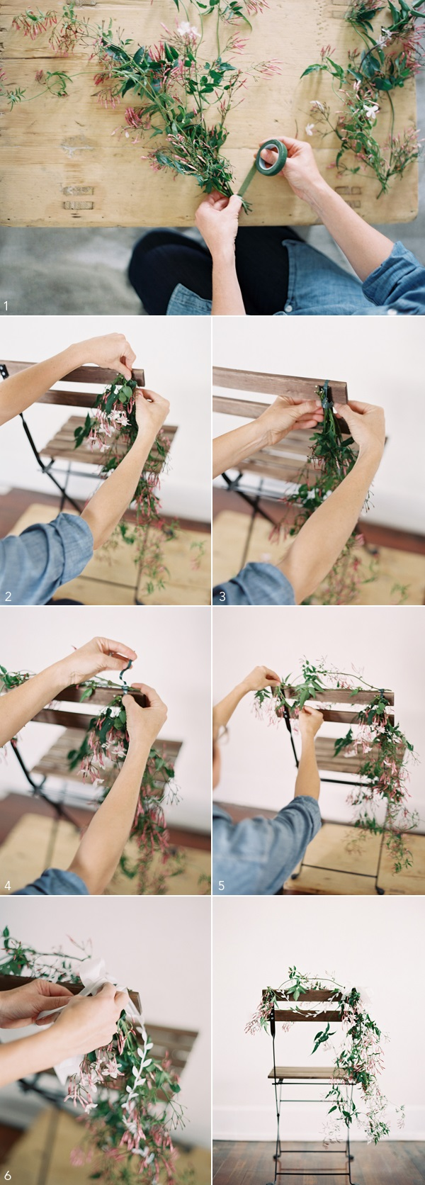 diy flower decorations floral decor garland0