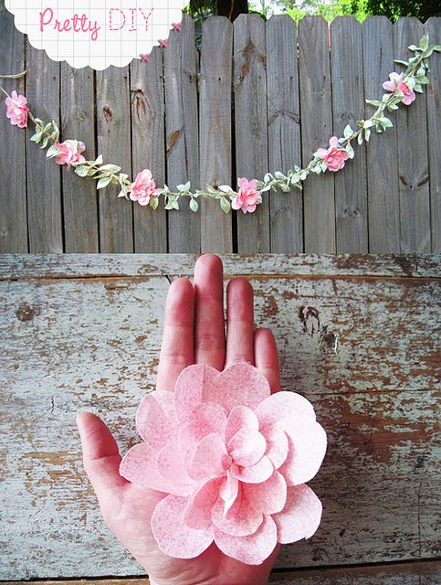 diy flower decorations floral decor garland1