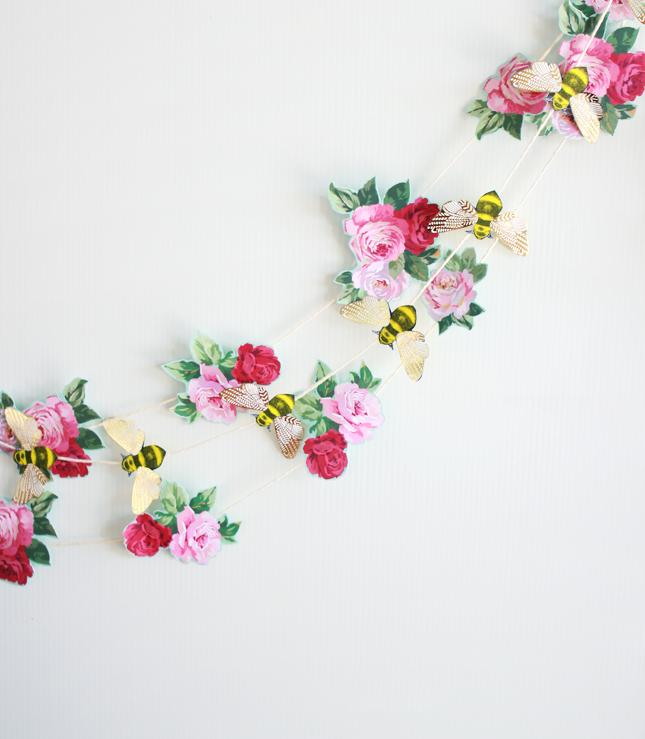 Paper flower garlands vaydileforic paper flower garlands mightylinksfo