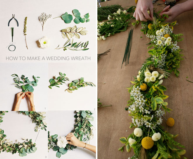 diy flower decorations floral decor garland4