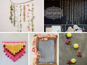 7 DIY Flower Garland Ideas To Decorate Your House: Part 1