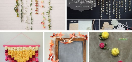 diy flower garland handmade diy flower decorations floral
