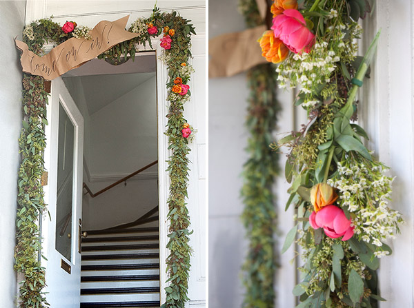 diy flower garland handmade diy flower decorations1