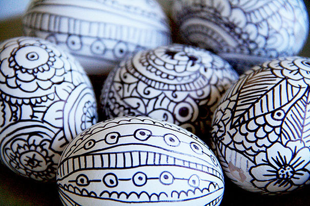 diy handmade easter egg decorating ideas1