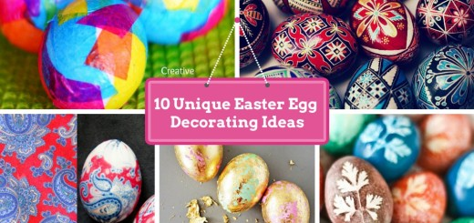 diy handmade easter egg decorating ideas