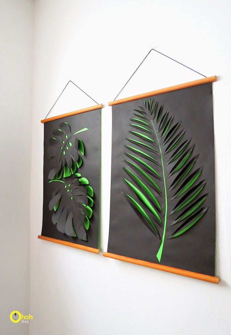 6 Extremely Easy and Cheap DIY Wall Decor Ideas: Part 4