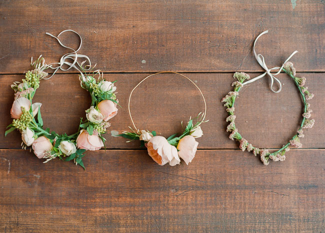 diy how to make a flower crown headband1