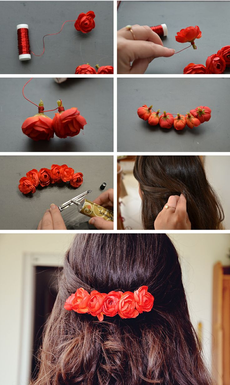 diy how to make a flower crown headband4