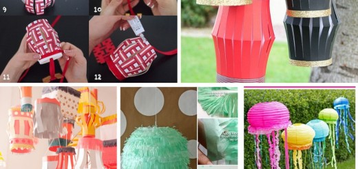 diy paper lanterns ideas