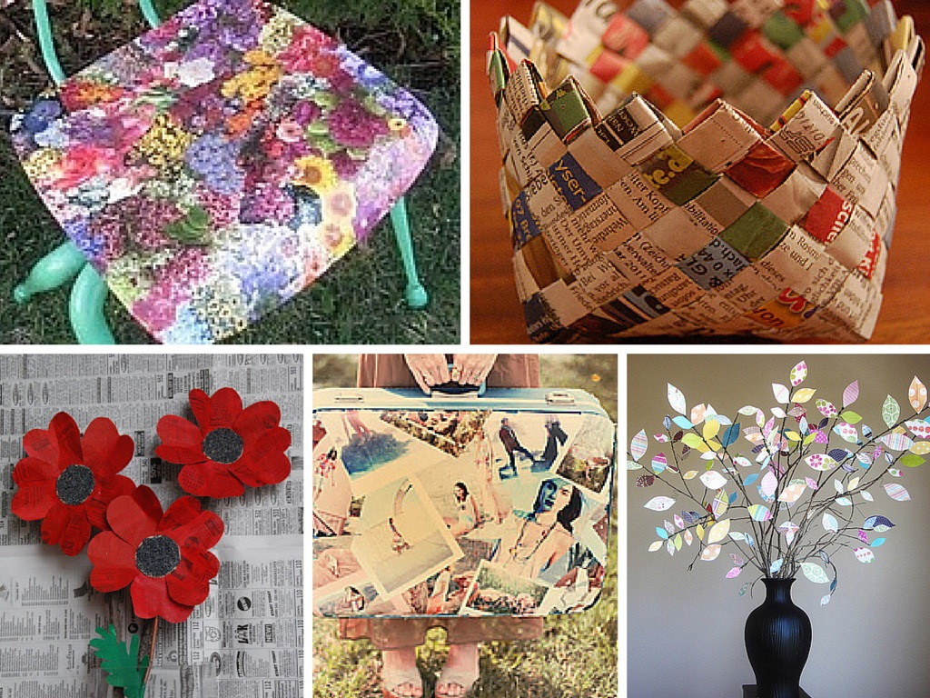 11 diy ways to creatively reuse your old magazines part 1 for Homemade recycling projects