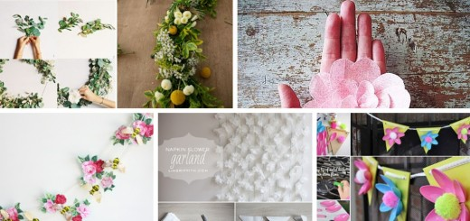 easy and cheap DIY Flower Decorations Ideas