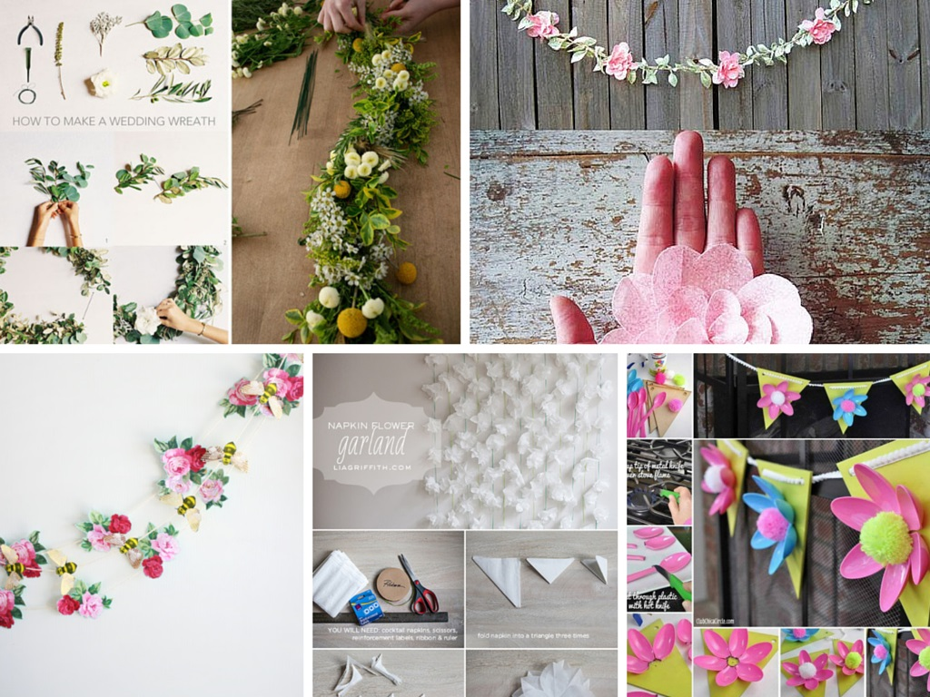 6 Pretty DIY Flower Decorations Ideas: Part 2