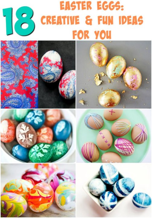easy diy fun creative easter egg ideas