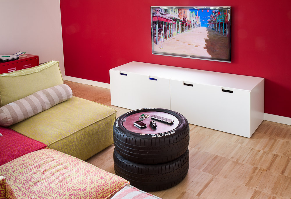 how to recycle and reuse old tires into planter DIY crafts6