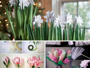 4 Easy DIY Tutorials On How to Make a Flower: Part 2