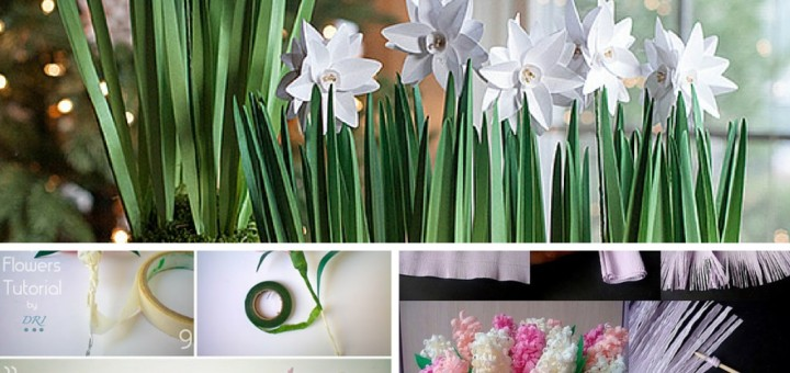 DIY Tutorials On How to Make a Flower