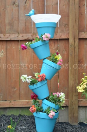 Low-Budget DIY Garden Pots and Containers7