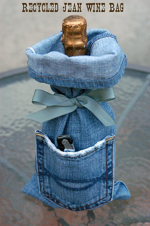 7 DIY New Ways To Recycled Clothing - Denim: Part 2