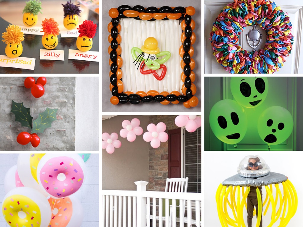 diy Balloon Decoration Ideas for party celebration home