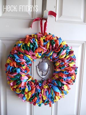 diy balloon decoration ideas balloon wreath
