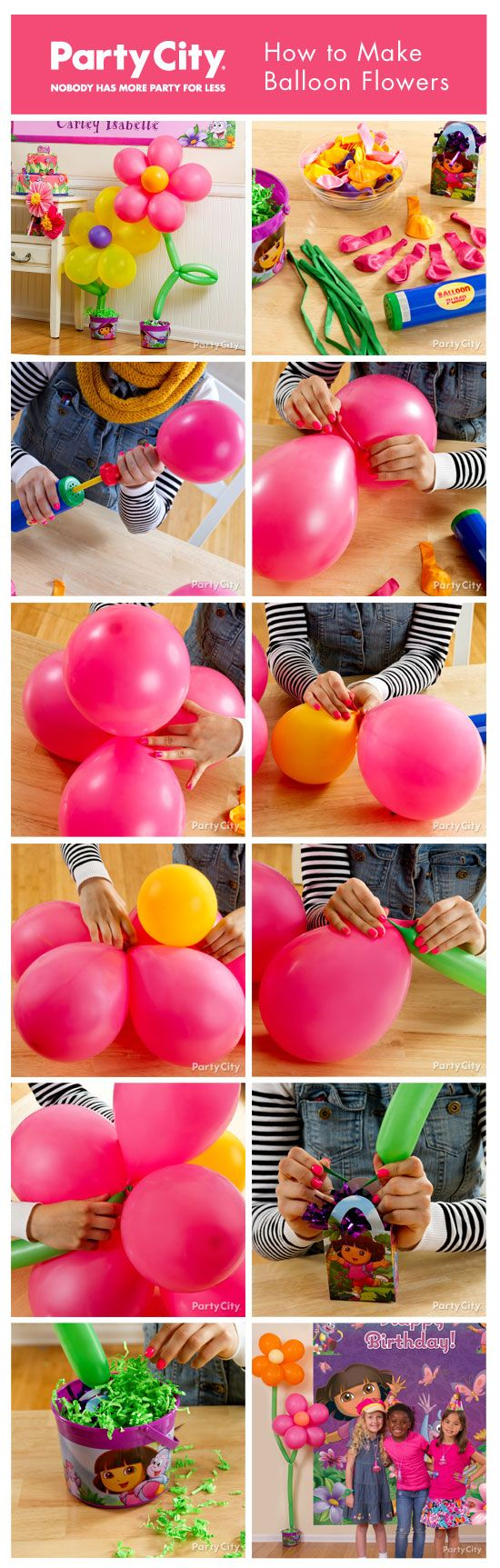 diy balloon decoration ideas for home party12