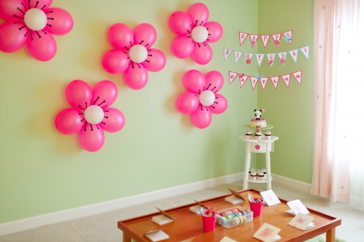 7 lovable very easy balloon decoration ideas part 1 for Party decorations to make at home