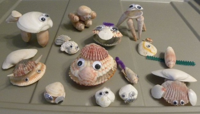 diy easy sea shell animal creation