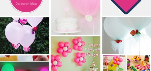 diy handmade balloon decoration ideas