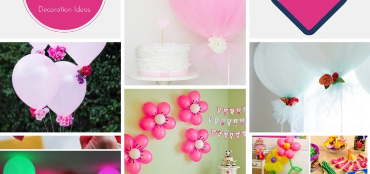 7 lovable very easy balloon decoration ideas part 1 for Balloon decoration making