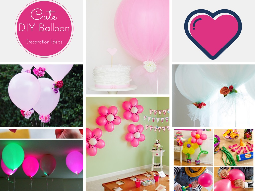 7 Lovable Very Easy Balloon Decoration Ideas Part 1 Sad To Happy